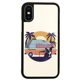 Camper van sunset iPhone case cover 11 11Pro Max XS XR X - Graphic Gear