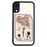 Abstract girl iPhone case cover 11 11Pro Max XS XR X - Graphic Gear