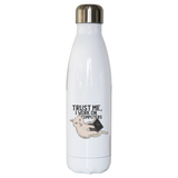 Computer cat water bottle stainless steel reusable - Graphic Gear