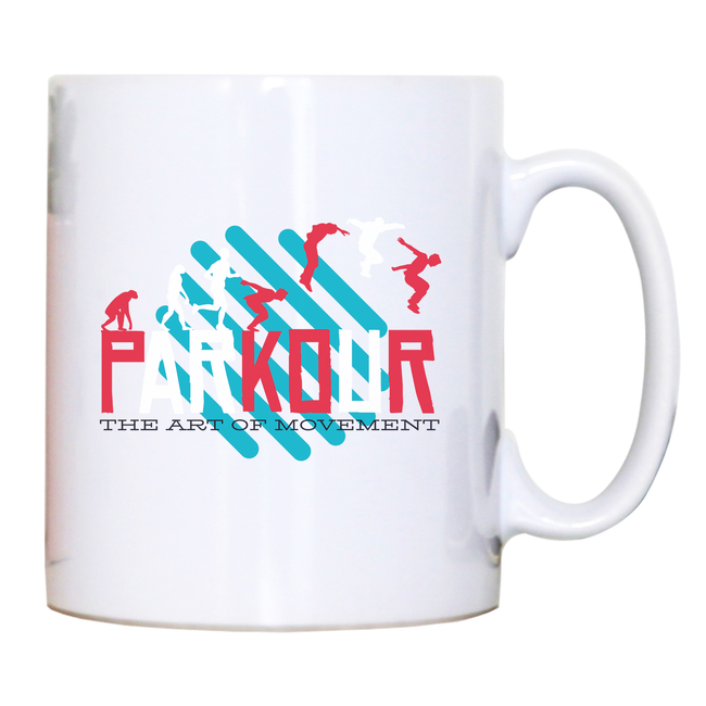 Parkour quote mug coffee tea cup - Graphic Gear