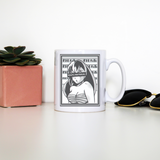 Waifu material anime mug coffee tea cup - Graphic Gear