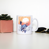 Fisherman illustration mug coffee tea cup - Graphic Gear