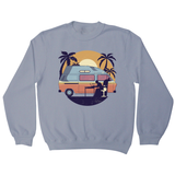 Camper van sunset sweatshirt - Graphic Gear