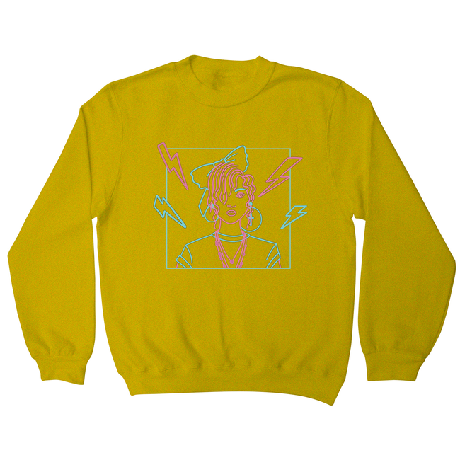 80's girl sweatshirt - Graphic Gear