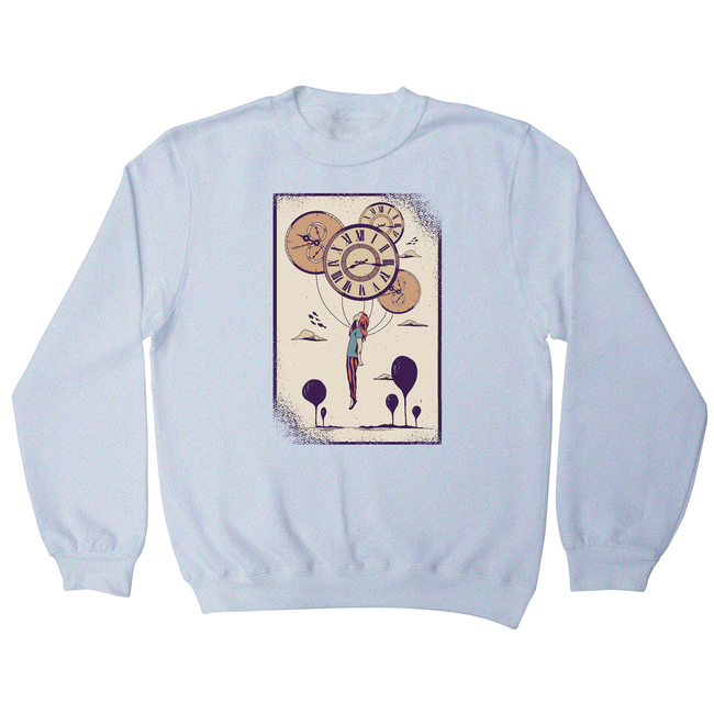 Abstract girl sweatshirt - Graphic Gear