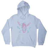 80's girl hoodie - Graphic Gear