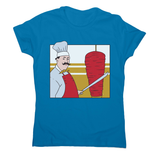 Kebab chef women's t-shirt