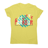 Parkour quote women's t-shirt - Graphic Gear