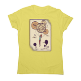 Abstract girl women's t-shirt - Graphic Gear