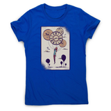 Abstract girl women's t-shirt