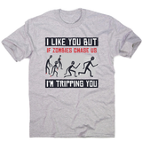 I like you but quote funny men's t-shirt