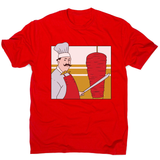 Kebab chef men's t-shirt