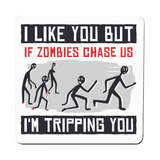 I like you but quote funny coaster drink mat - Graphic Gear