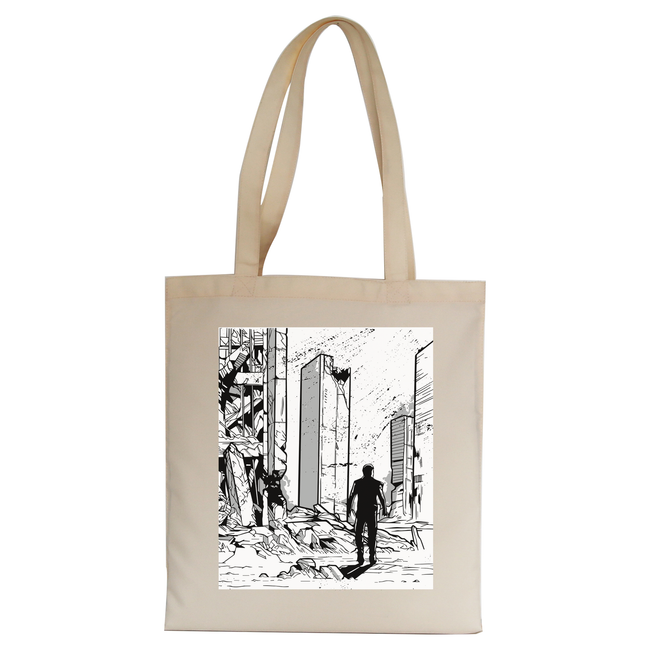 Apocalypse tote bag canvas shopping - Graphic Gear
