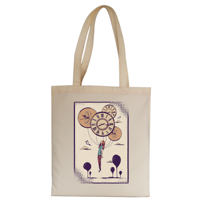 Abstract girl tote bag canvas shopping - Graphic Gear