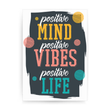 Positive quote print poster wall art decor - Graphic Gear