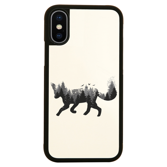 Forest fox animal iPhone case cover 11 11Pro Max XS XR X