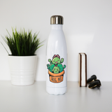 Cacti hug water bottle stainless steel reusable - Graphic Gear