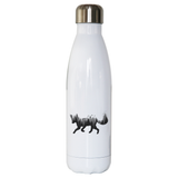 Forest fox animal water bottle stainless steel reusable - Graphic Gear