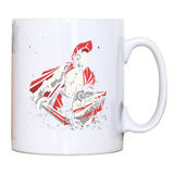 Roman warrior mug coffee tea cup