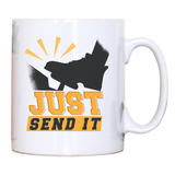 Gas pedal quote mug coffee tea cup - Graphic Gear