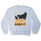 Gas pedal quote sweatshirt - Graphic Gear