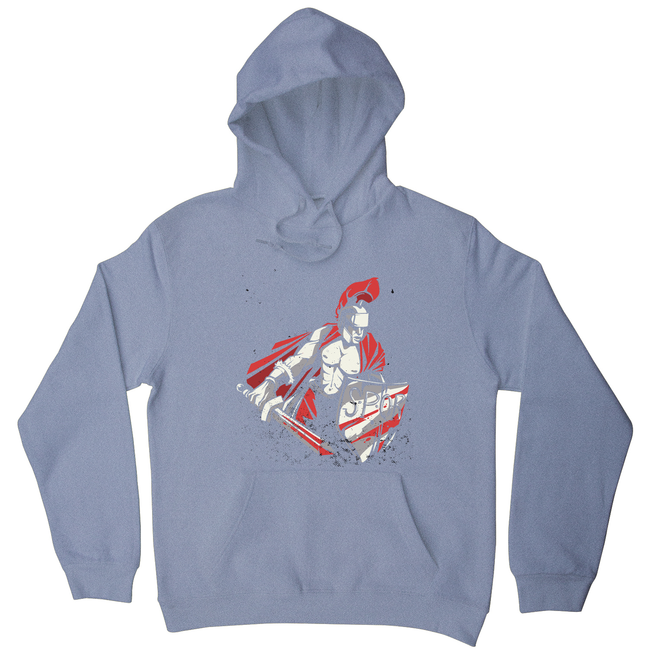 Roman warrior hoodie - Graphic Gear