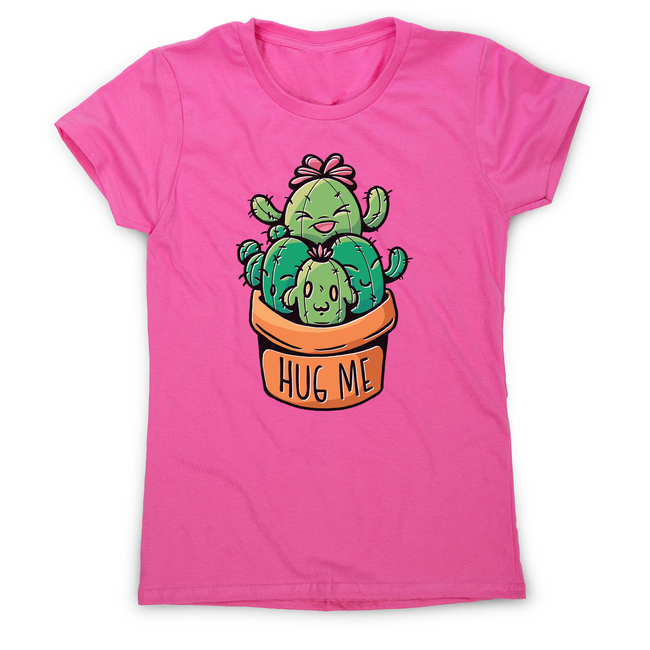Cacti hug women's t-shirt - Graphic Gear