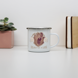 Heart of a lion enamel camping mug outdoor cup colors - Graphic Gear