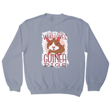 Girl love guinea pigs sweatshirt - Graphic Gear