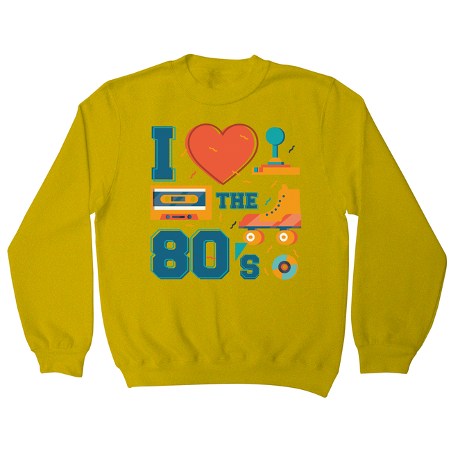 Love the 80's sweatshirt