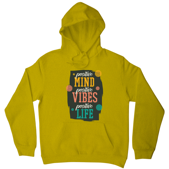 Positive quote hoodie