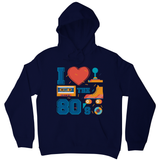 Love the 80's hoodie - Graphic Gear