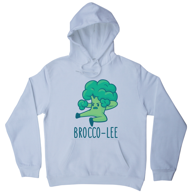 Broccolee funny hoodie - Graphic Gear