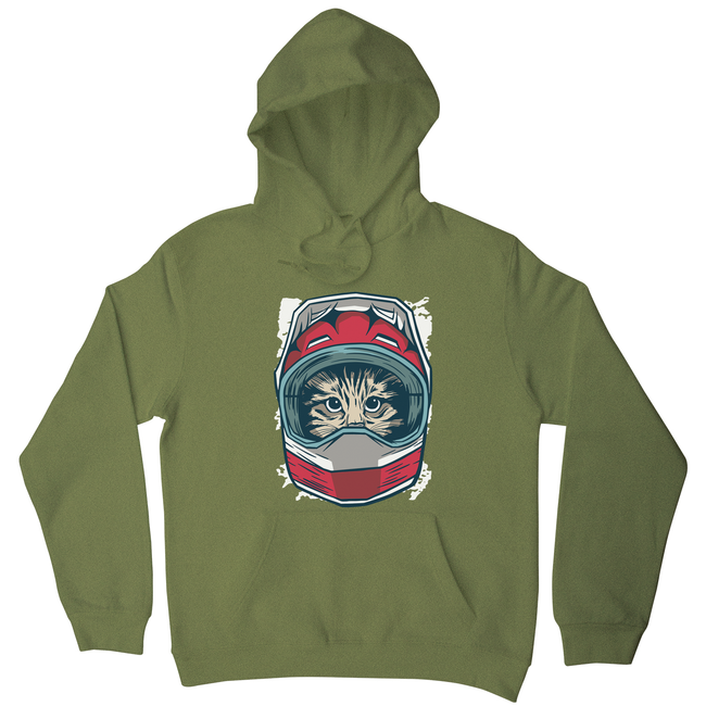 Cat driver hoodie - Graphic Gear