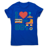 Love the 80's women's t-shirt - Graphic Gear