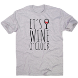 Wine o'clock men's t-shirt