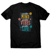 Positive quote men's t-shirt - Graphic Gear