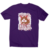 Girl love guinea pigs men's t-shirt - Graphic Gear