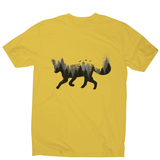 Forest fox animal men's t-shirt - Graphic Gear