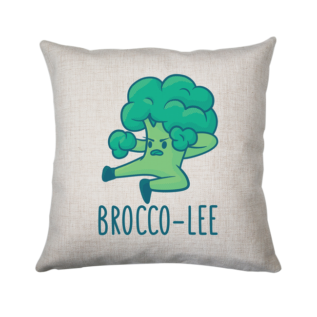 Broccolee funny cushion cover pillowcase linen home decor - Graphic Gear
