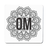 Mandala om ornamental floral coaster drink mat - Graphic Gear