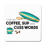 Paddle quote coaster drink mat - Graphic Gear
