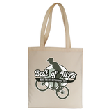 Mountain bike quote tote bag canvas shopping - Graphic Gear