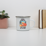 Sloth nothing day enamel camping mug outdoor cup colors