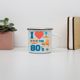 Love the 80's enamel camping mug outdoor cup colors - Graphic Gear