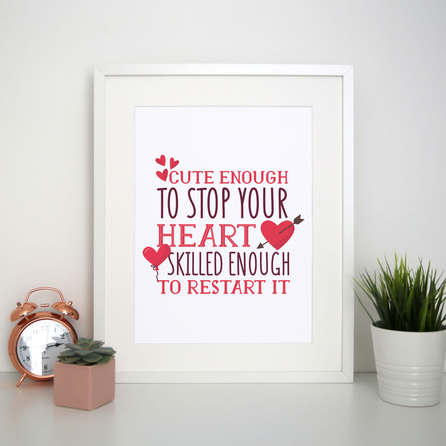 Nurse funny quote print poster wall art decor