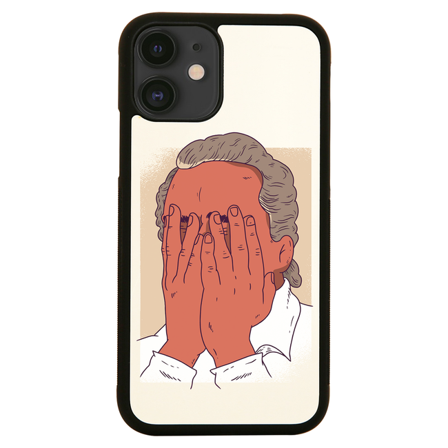Facepalm man funny iPhone case cover 11 11Pro Max XS XR X
