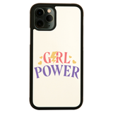 Girl power quote iPhone case cover 11 11Pro Max XS XR X - Graphic Gear