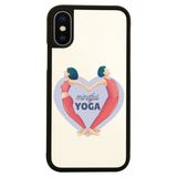Mindful yoga iPhone case cover 11 11Pro Max XS XR X